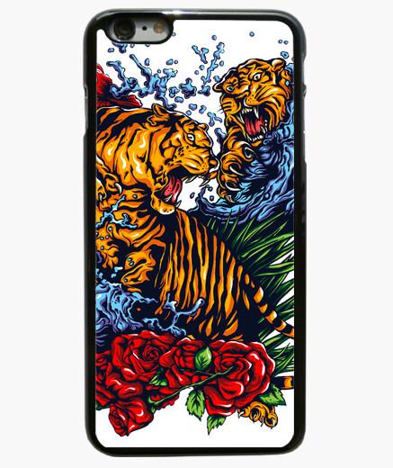 Cover iPhone 6 Plus  / 6S Plus tigri fight