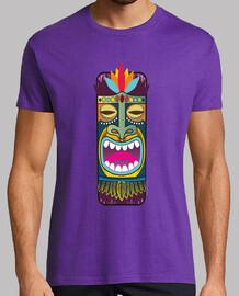 tiki maschera totem - hawaii