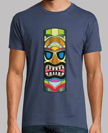 tiki totem mask - hawaii
