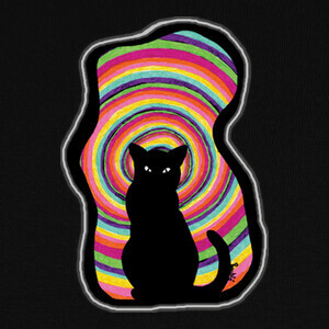 time for child stories: the BLACK CAT T-shirts