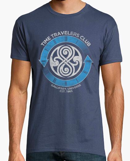 Time travelers club (who) t-shirt