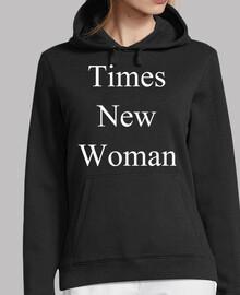 Times New Woman (Sudadera)