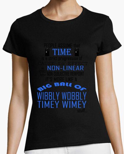 Camiseta Timey Wimey - Dr. Who
