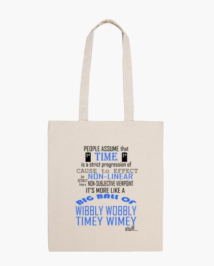 Bolsa Timey Wimey - Dr. Who