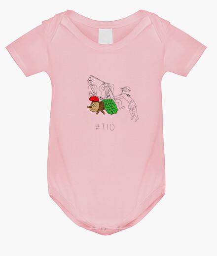 Ropa infantil Tió - Body nadó amb pigments ecològics