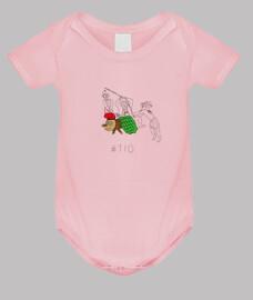 Tió - Body nadó amb pigments ecològics