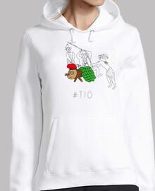 tió - jersei noia amb caputxa