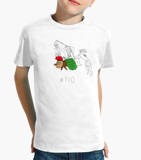 Ropa infantil Tió - Samarreta infantil 100 cotó