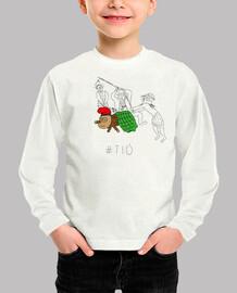 Tió - Samarreta infantil 100 cotó