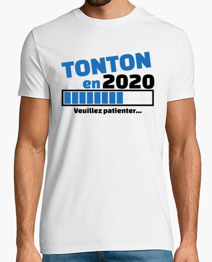 Camiseta tío en 2020 por favor espera