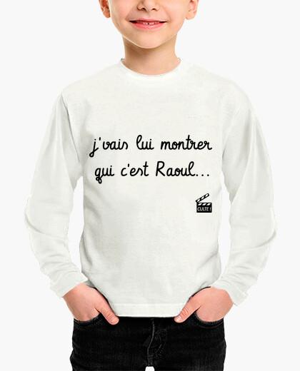 Ropa infantil tío flingueurs que es Raoul