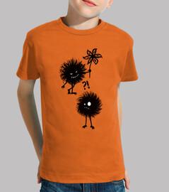 tipo maligno amigos errores niños camiseta