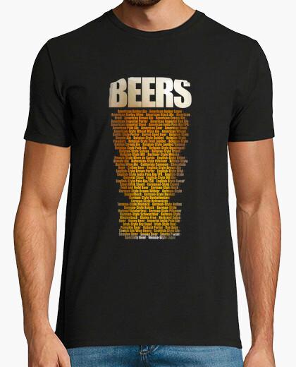 Camiseta Tipos de cerveza