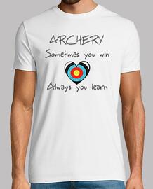tir à l'arc victoire et apprendre