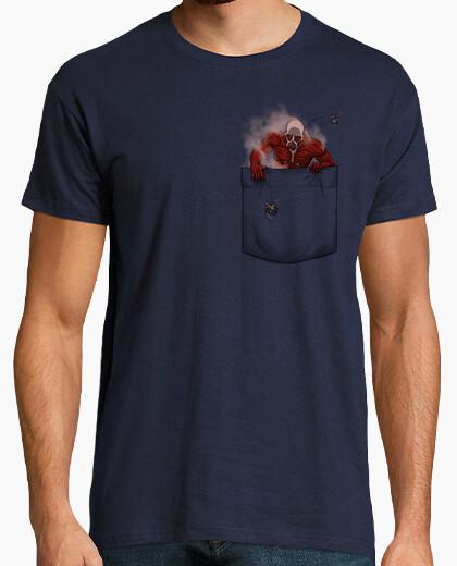Camiseta titan bolsillo