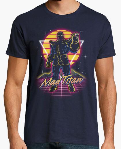 Tee-shirt titan fou rétro