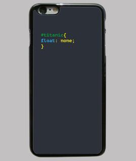 titan funda iphone 6 plus, schwarz