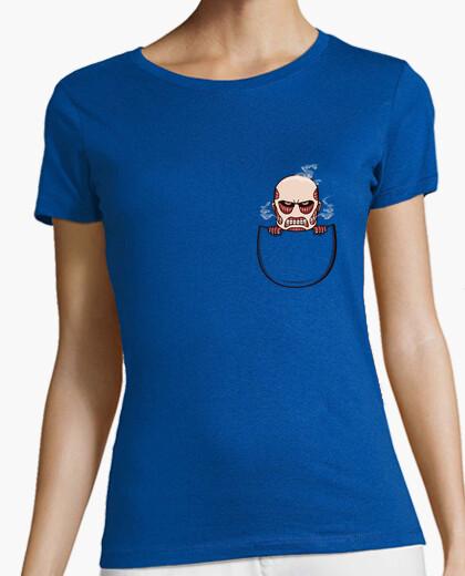 Tee-shirt Titan poche - shirt femme