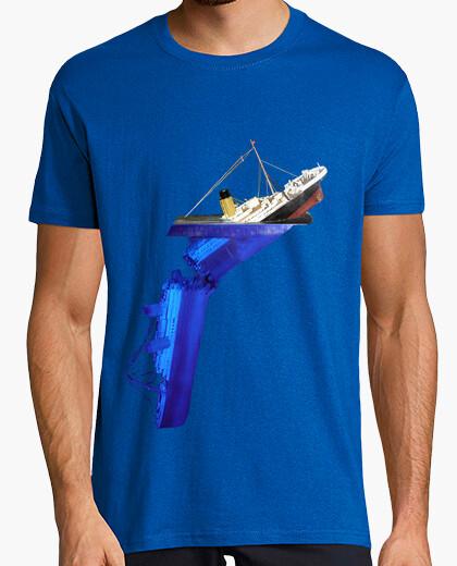 Titanic Breakup. Camiseta hombre calidad extra