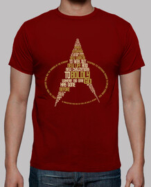 TNG Typography (Red Mens)