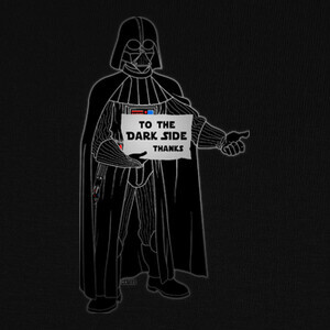 Camisetas To the dark side