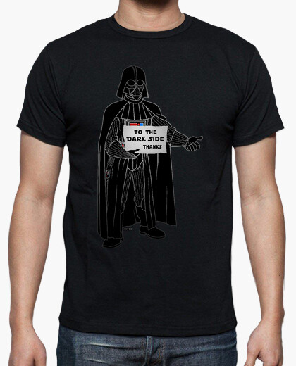 To the dark side t-shirt