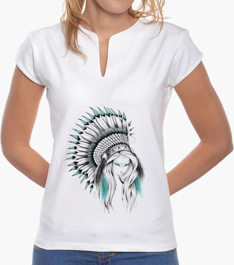 Camiseta tocado de indio