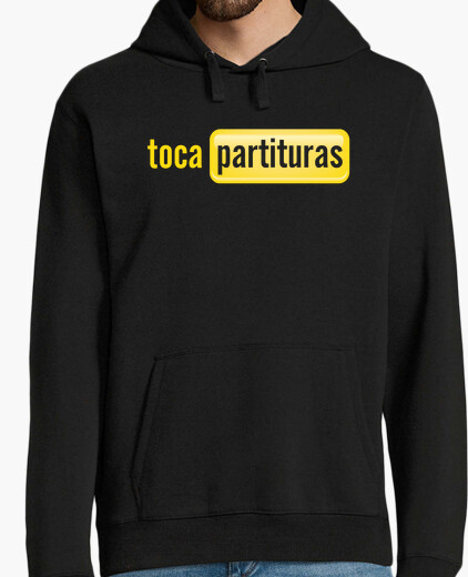 Tocapartituras hooded sweater boy hoody