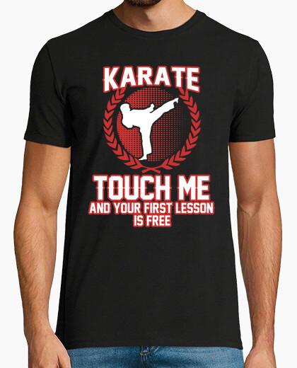 T-shirt toccami e la tua prima lezione è gratuita