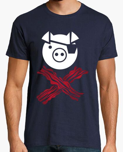 Camiseta tocino de cerdo