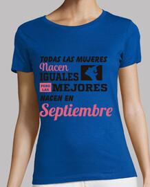 Todas las mujeres nacen septiembre