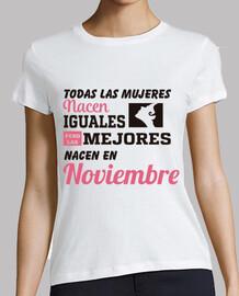 Todas las mujeres noviembre