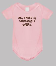todo lo que necesito es chocolate