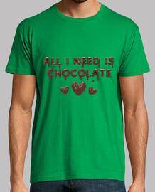 todo lo que necesito es el chocolate