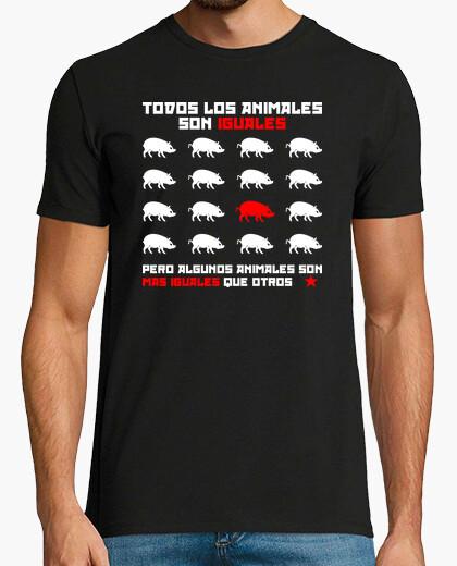 Camiseta Todos los animales son iguales 2