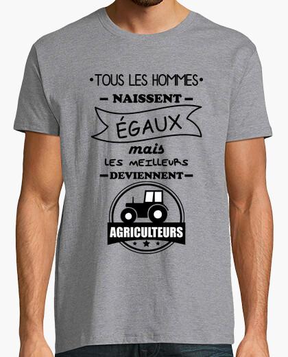 Camiseta todos los hombres agricultores