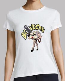 tofu végétalien, femme