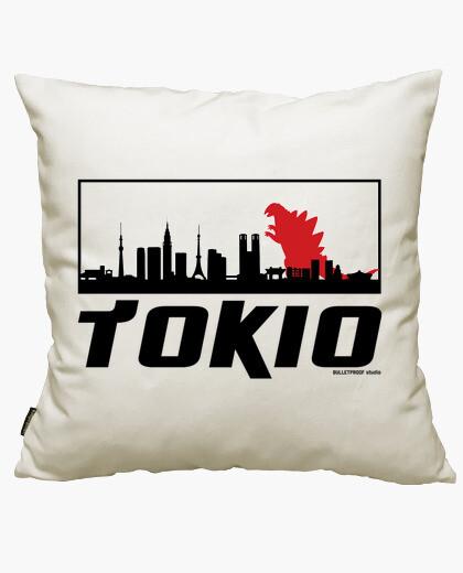 Funda cojín Tokiozilla