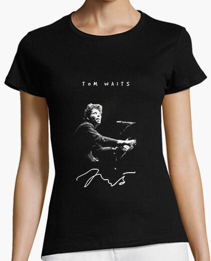 Tom Waits T Shirt blues rock music legend Blue Valentine Rain Dogs Closing time