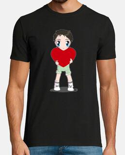 toma mi corazón, camiseta