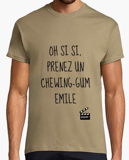 Camiseta tomar un chicle emile - adoración