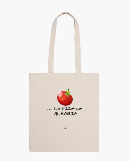 Bolsa Tomate y alegría
