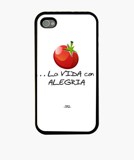 Funda iPhone Tomate y alegría