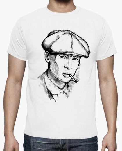Tommy shelby: portrait for a gangster t-shirt
