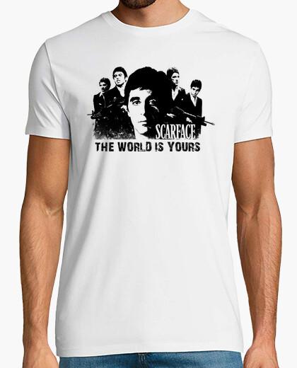 Camiseta Tony Montana - The World Is Yours (Scarface)