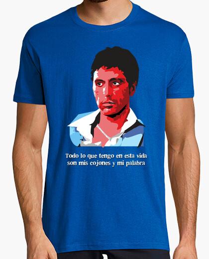 Camiseta Tony Montana - Todo lo que tengo en esta vida... (Scarface)
