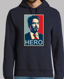 Tony Stark Hero Iron man Jersey H