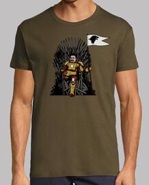 tony stark on the throne