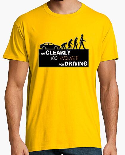 Camiseta Too evolved for driving