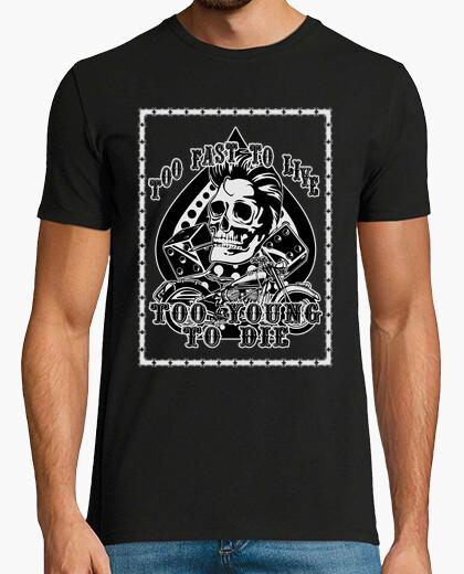 Camiseta Too fast